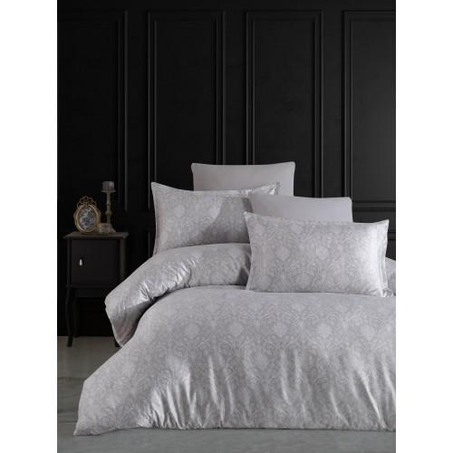 Kokvilnas satīna gultas veļas komplekts  Elegance 140x200 cm