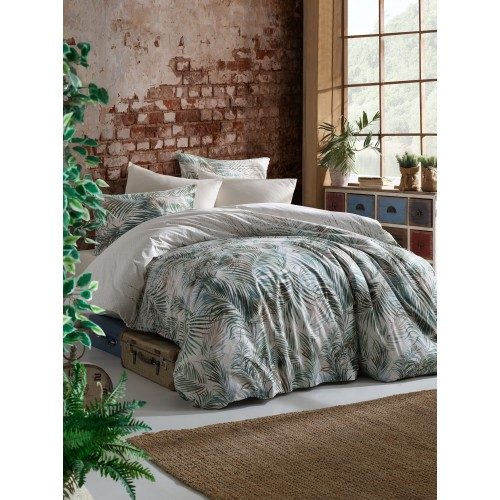 Kokvilnas gultas veļas komplekts Exotic 140x200 cm