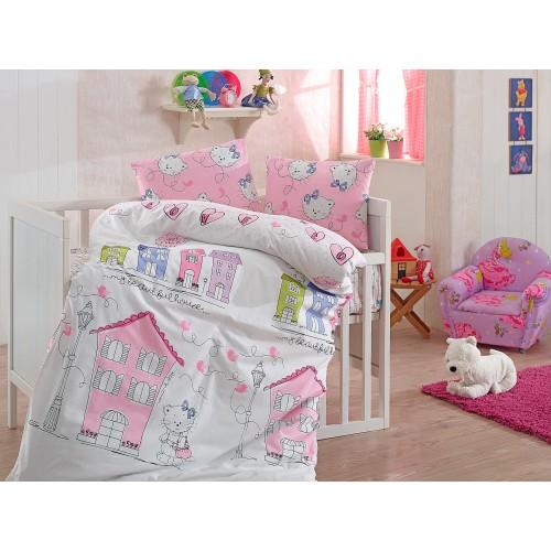 Bērnu gultas veļas komplekts  Mia 100x140 cm