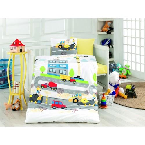 Bērnu gultas veļas komplekts  Santi 100x140 cm