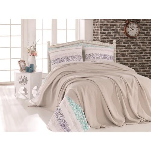 Pleds - gultas pārklājs Stone 140x220 cm