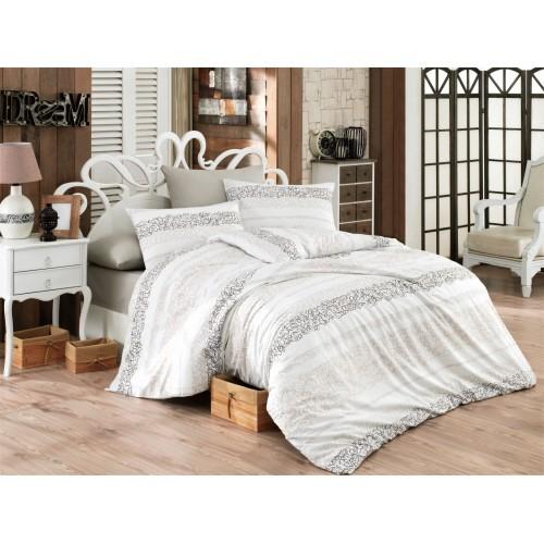 Kokvilnas gultas veļas komplekts Morel 140x200 cm