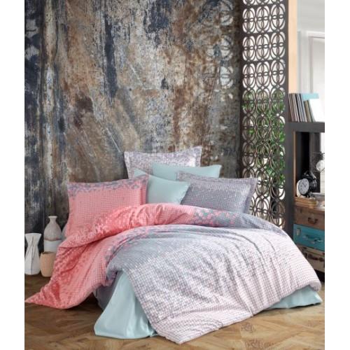 Kokvilnas satīna gultas veļas komplekts  Antonio 140x200 cm