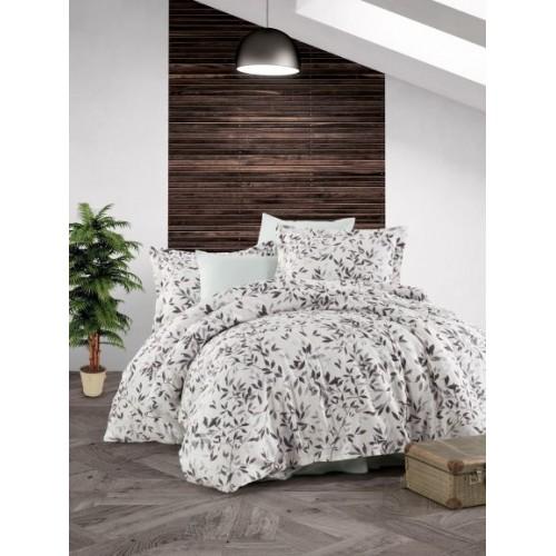 Kokvilnas satīna gultas veļas komplekts  Fall 140x200 cm