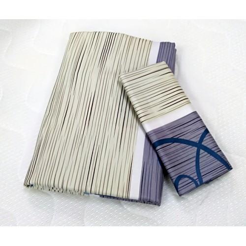 Satīns segas pārvalka komplekts 140x200 cm