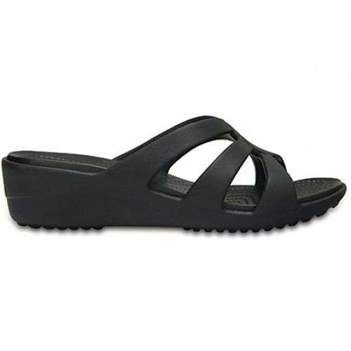 Crocs™ Sanrah Strappy Wedge