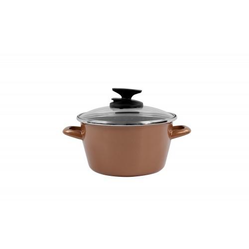 Katls - sautējums Cuivre Stewpot 24 cm