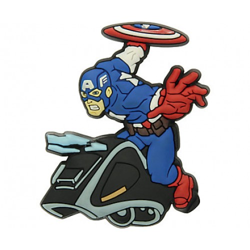 JIBBITZ Capt America Vehile