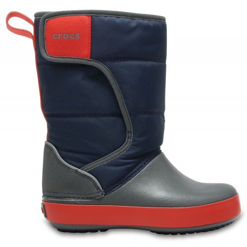 Crocs™ Kids' LodgePoint Snow Boot