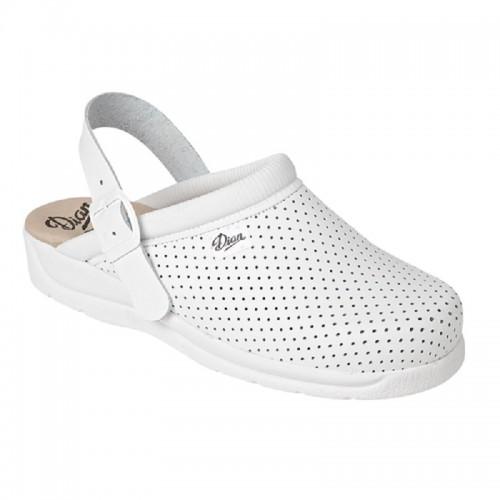 DIAN PIZA CORREA ādas kurpītes ar elastīgu siksniņu