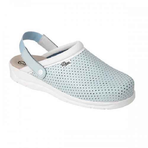 DIAN PIZA CP ādas kurpītes ar elastīgu siksniņu