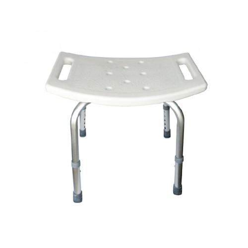 Taisnstūra dušas krēsls 50x30 cm