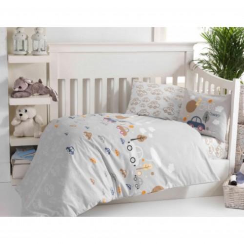 Bērnu gultas veļas komplekts  Beep 100x140 cm