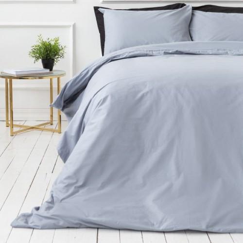 Kokvilnas gultas veļas komplekts 200x200 cm