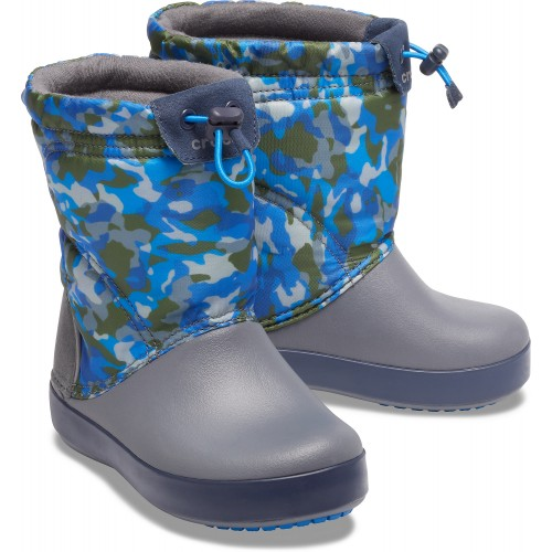 Crocs™ Kids' Crocband LodgePoint Graphic Winter Boot