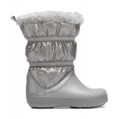 Crocs™ Crocband LodgePoint Metallic Boot Girl's